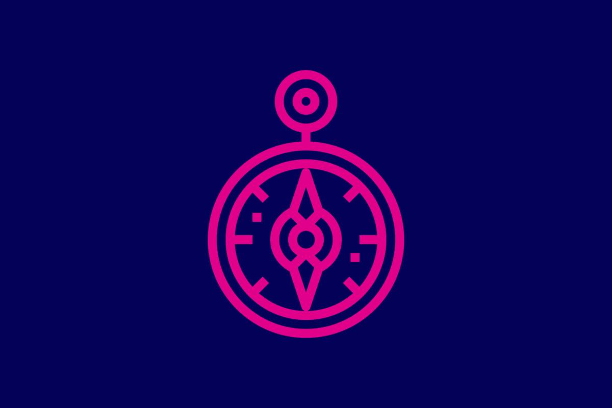 Symbol: Kompass.